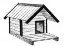 Будка для собаки - Простая :: Купить будку для собаки Вы можете по телефонам: 8 (495) 783-65-09, 8 (495) 518-64-87