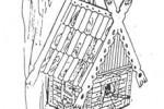 Домик для белки v2 :: Купить или заказать изготовление домиков для животных Вы можете по телефонам: 8 (495) 783-65-09, 8 (495) 518-64-87