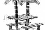 Теневой навес - Гостевой :: Заказать теневые навесы из дерева различных моделей, Вы можете по телефонам: 8 (495) 783-65-09, 8 (495) 518-64-87