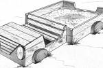 Песочница - Машина :: Детские песочницы изготовленные из дерева, Вы можете купить/заказать по телефонам: 8 (495) 783-65-09, 8 (495) 518-64-87