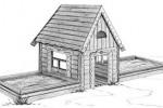Песочный дворик - Изба :: Детские песочницы изготовленные из дерева, Вы можете купить/заказать по телефонам: 8 (495) 783-65-09, 8 (495) 518-64-87