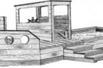 Песочница - Сторожевой катер :: Детские песочницы изготовленные из дерева, Вы можете купить/заказать по телефонам: 8 (495) 783-65-09, 8 (495) 518-64-87
