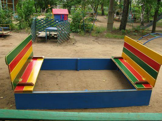 Детская песочница с крышкой Купить песочницы для дачи