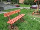Скамья - Дворовая :: Скамейки и лавки изготовленные из дерева, можно заказать по телефонам: 8 (495) 783-65-09, 8 (495) 518-64-87