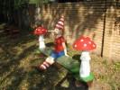 Скамья - Буратино :: Скамейки и лавки изготовленные из дерева, можно заказать по телефонам: 8 (495) 783-65-09, 8 (495) 518-64-87