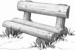 Скамья - Дачная :: Скамейки и лавки изготовленные из дерева, можно заказать по телефонам: 8 (495) 783-65-09, 8 (495) 518-64-87