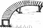 Скамья - Полукруглая :: Скамейки и лавки изготовленные из дерева, можно заказать по телефонам: 8 (495) 783-65-09, 8 (495) 518-64-87