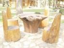 Гарнитур - Садовый :: Скамейки и лавки изготовленные из дерева, можно заказать по телефонам: 8 (495) 783-65-09, 8 (495) 518-64-87