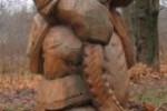 Скульптура - Емеля (средняя) :: Заказать изготовление скульптур из дерева, Вы можете по телефонам: 8 (495) 783-65-09, 8 (495) 518-64-87