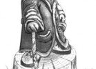 Скульптура - Крот :: Заказать изготовление деревянных скульптур, Вы можете по телефонам: 8 (495) 783-65-09, 8 (495) 518-64-87
