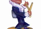 Скульптура - Шапокляк с рогаткой (большая) :: Заказать изготовление деревянных скульптур, Вы можете по телефонам: 8 (495) 783-65-09, 8 (495) 518-64-87