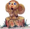 Скульптура - Чебурашка (большая) :: Заказать изготовление скульптур из дерева, Вы можете по телефонам: 8 (495) 783-65-09, 8 (495) 518-64-87