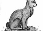 Скульптура - Заяц серый :: Заказать изготовление деревянных скульптур, Вы можете по телефонам: 8 (495) 783-65-09, 8 (495) 518-64-87