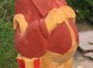 Скульптура - Оле Лукойе (средняя) :: Заказать изготовление скульптур из дерева, Вы можете по телефонам: 8 (495) 783-65-09, 8 (495) 518-64-87