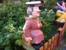 Скульптура - Почтальон Печкин (большая) :: Заказать изготовление скульптур из дерева, Вы можете по телефонам: 8 (495) 783-65-09, 8 (495) 518-64-87