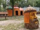 Скульптура - Голова Руслана (большая) :: Заказать изготовление скульптур из дерева, Вы можете по телефонам: 8 (495) 783-65-09, 8 (495) 518-64-87