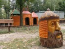 Скульптура - Голова Руслана (маленькая) :: Заказать изготовление скульптур деревянных, Вы можете по телефонам: 8 (495) 783-65-09, 8 (495) 518-64-87