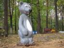 Скульптура - Мышка (большая) :: Заказать изготовление скульптур из дерева, Вы можете по телефонам: 8 (495) 783-65-09, 8 (495) 518-64-87