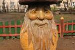 Скульптура - Гриб лесовик (средняя) :: Заказать изготовление скульптур из дерева, Вы можете по телефонам: 8 (495) 783-65-09, 8 (495) 518-64-87