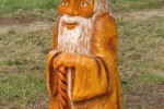 Скульптура - Гриб старичок боровичок (средняя) :: Заказать изготовление скульптур деревянных, Вы можете по телефонам: 8 (495) 783-65-09, 8 (495) 518-64-87