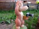 Скульптура - Пёс Шарик (средняя) :: Заказать изготовление скульптур деревянных, Вы можете по телефонам: 8 (495) 783-65-09, 8 (495) 518-64-87