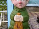 Скульптура - Гном 1 шт. (большая) :: Заказать изготовление скульптур из дерева, Вы можете по телефонам: 8 (495) 783-65-09, 8 (495) 518-64-87