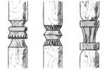 Столбы - Резные о, п, р, с, т 1 шт. :: Описание изготовленные из дерева, заказать данную продукцию Вы можете по телефонам: 8 (495) 783-65-09, 8 (495) 518-64-87