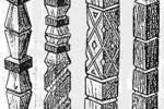 Столбы - Резные 1, 2, 3, 4 1 шт. :: Описание изготовленные из дерева, заказать данную продукцию Вы можете по телефонам: 8 (495) 783-65-09, 8 (495) 518-64-87