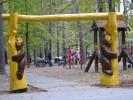 Входные ворота - Медведи :: Входные ворота изготовленные из дерева, заказать данную продукцию Вы можете по телефонам: 8 (495) 783-65-09, 8 (495) 518-64-87