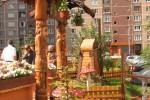 Входные ворота - Старцы :: Входные ворота изготовленные из дерева, заказать данную продукцию Вы можете по телефонам: 8 (495) 783-65-09, 8 (495) 518-64-87