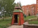 Входные ворота - Витязь(Средние) :: Входные ворота изготовленные из дерева, заказать данную продукцию Вы можете по телефонам: 8 (495) 783-65-09, 8 (495) 518-64-87