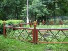 Забор - Девять :: Заказ изготовления заборов и оград из дерева в нашей компании по телефонам: 8 (495) 783-65-09, 8 (495) 518-64-87