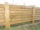 Забор из горбыля :: Заказ изготовления заборов и оград из дерева в нашей компании по телефонам: 8 (495) 783-65-09, 8 (495) 518-64-87