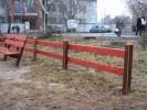 Забор - Двойка :: Заказ изготовления заборов и оград из дерева в нашей компании по телефонам: 8 (495) 783-65-09, 8 (495) 518-64-87