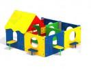 Расширенный домик 1 :: Заказать беседку или домик, Вы можете по телефонам: 8 (495) 783-65-09, 8 (495) 518-64-87