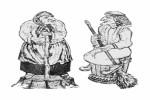 Баба Яга :: Заказать фигуры деревянные, Вы можете по телефонам: 8 (495) 783-65-09, 8 (495) 518-64-87