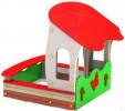 Песочница - Бабочки с крышей :: Заказать изготовление песочниц и песочных двориков, Вы можете по телефонам: 8 (495) 783-65-09, 8 (495) 518-64-87