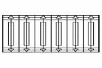 Секция забора Р-8 :: Вы можете заказать заборы различного вида, по телефонам: 8 (495) 783-65-09, 8 (495) 518-64-87
